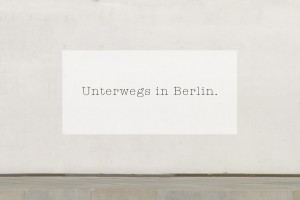 Unterwegs in Berlin